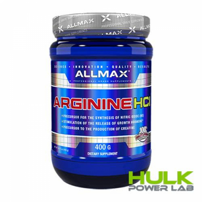 Allmax Nutrition Arginine 400 грамм