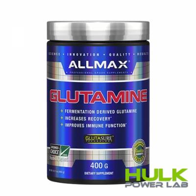 AllMax Nutrition Glutamine 400 грамм