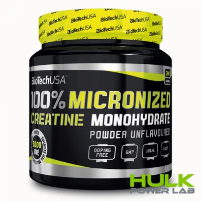 BioTech 100% Creatine Monohydrate 300 грамм