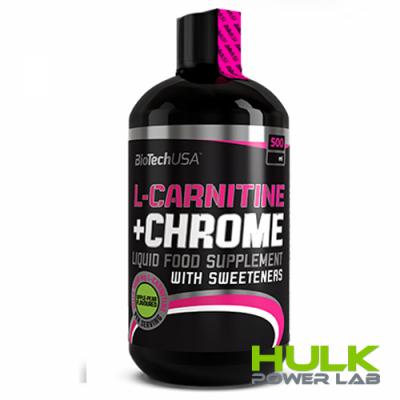 BioTech L-Carnitine 35.000 mg + Chrome 500 ml
