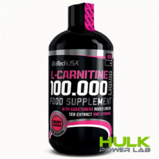 BioTech L-Carnitine 100000 Liquid 500 мл
