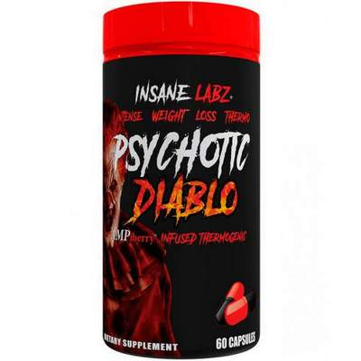 Insane Labz Psychotic Diablo 60 капсул