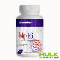 IronFlex  Mg + B6  90 капсул