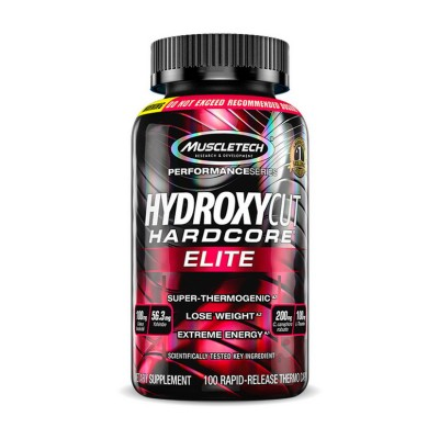 Muscletech Hydroxycut Hardcore Elite 100 caps