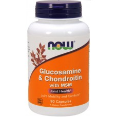 Now Foods Glucosamine Chondroitin MSM 90 капсул