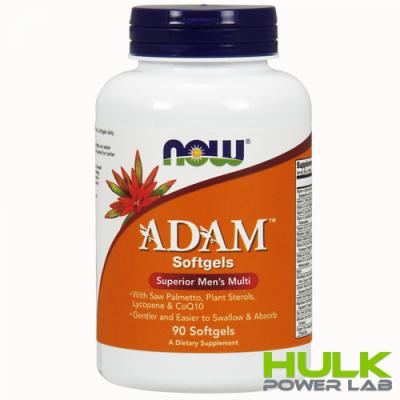 NOW Adam 90 softgels