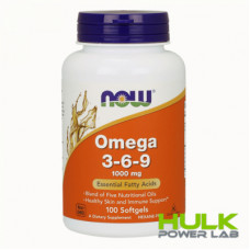 Now Omega 3-6-9 1000 mg 90 caps