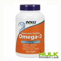 NOW Omega 3 100 капсул