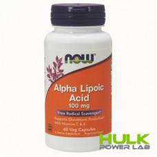 NOW Alpha Lipoic Acid 100 mg 60 Capsules