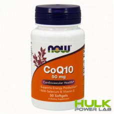 NOW CoQ10 50 mg 50 Softgels