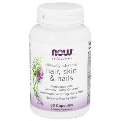 Now Foods clinical hair, skin & nails 90 капсул