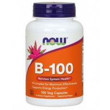 NOW Foods Vitamin B-100 100 капсул