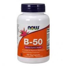 Now Foods B-50 100 растительных капсул