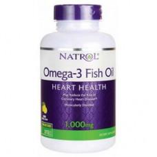 Natrol Omega-3 Fish Oil 1000 mg 150 капсул