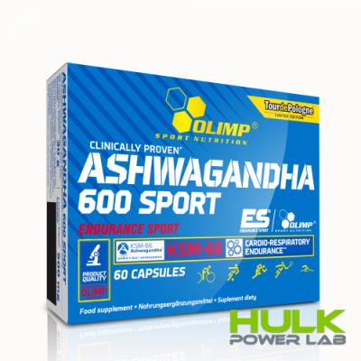 Olimp Ashwagandha 600 Sport 60 капсул