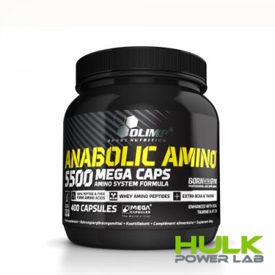 Olimp Anabolic Amino 5500 mega caps 400caps