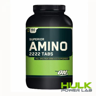 Optimum Nutrition SUPERIOR AMINO 2222 160 таблеток