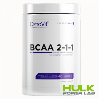 Ostrovit Extra Pure BCAA 2:1:1 400 g