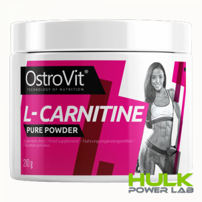 Ostrovit 100% L-Carnitine 210g