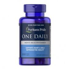 Puritan's Pride One Daily Men's Multivitamin 100 капсул