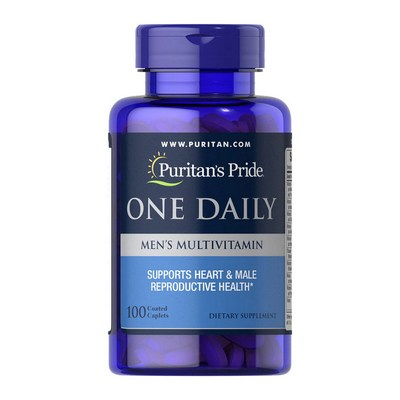 Puritan's Pride One Daily Men's Multivitamin 100 капсул