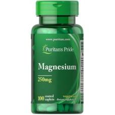Puritan's Pride Magnesium 250 мг 100 капсул