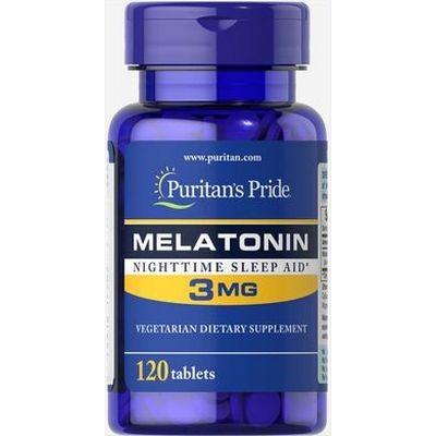 Puritan's Pride Melatonin 3 мг 120 таблеток