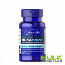 Puritan's Pride DHEA 50 мг 50 таблеток
