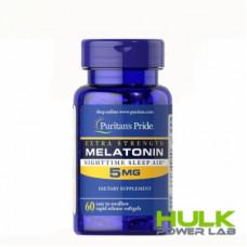 Puritan's Pride Melatonin 5 мг 60  капсул