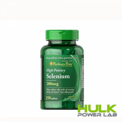 Puritan's Pride Selenium 200 mcg 100 tab