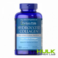 Puritan's Pride Hydrolyzed Collagen 1000 mg 180 caps