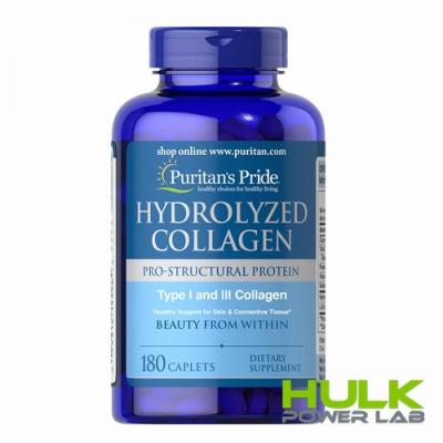Puritan's Pride Hydrolyzed Collagen 1000 mg 180 caps