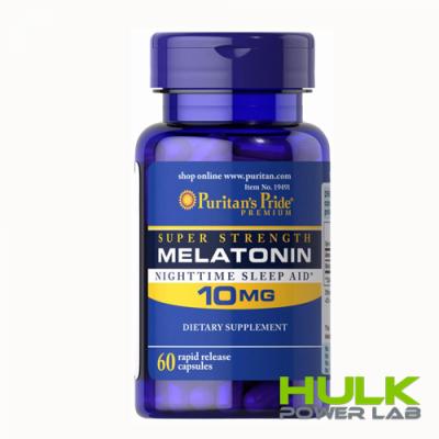 Puritan's Pride Melatonin 10 мг 60 капсул