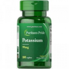 Puritan's Pride Potassium 99 мг 100 капсул