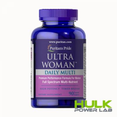 Puritan's Pride Ultra Woman daily multi 90 капсул