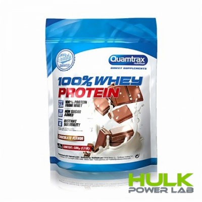 Quamtrax 100 % whey protein 500 г