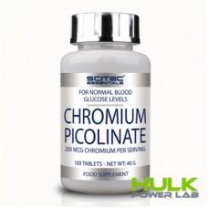 Scitec Nutrition CHROMIUM PICOLINATE 100 таблеток
