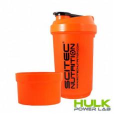 Шейкер Scitec Nutrition Traveler Shake 500 ml 2-х компонентный