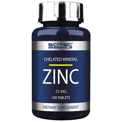Zinc Scitec Nutrition 25 мг 100 таблеток