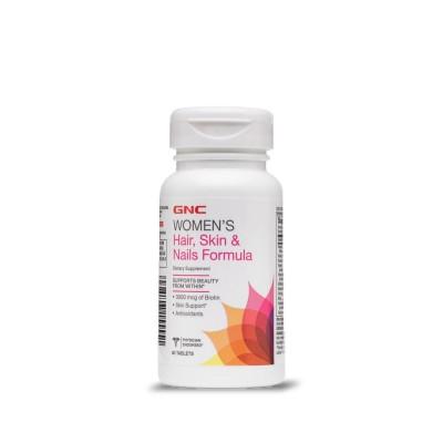 GNC Women's Hair, Skin & Nails Formula 120 таблеток