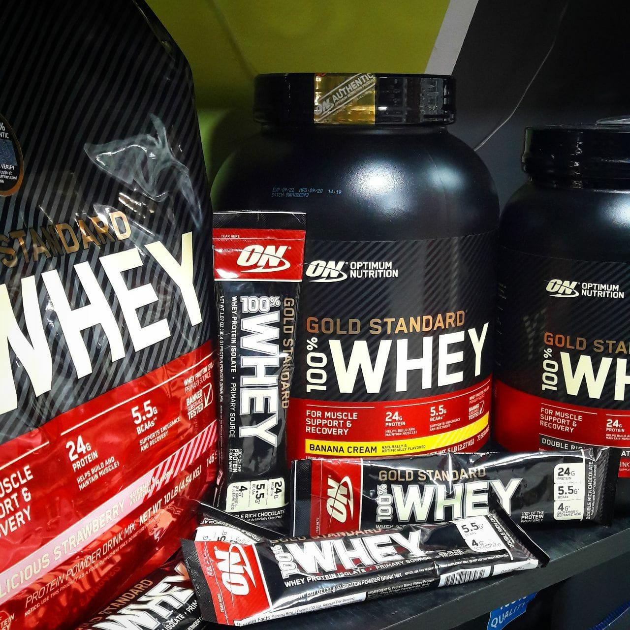 Optimum Nutrition Gold Standard 100% Whey 908 г - купить Харьков